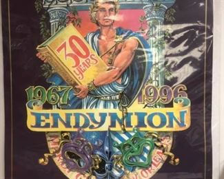 https://www.ebay.com/itm/124135536195Cma2005 30x23 HxW. Poster commemorating the 30th anniversary of the krewe of Endymion.  $20