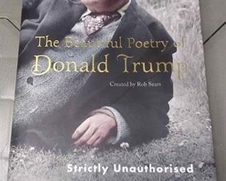 https://www.ebay.com/itm/114190010807THE BEAUTIFUL POETRY OF  DONALD TRUMP BOOK BY ROB SEARS STRICKLY UNAUTHORIZED BOX 70 GB4162002 $5
