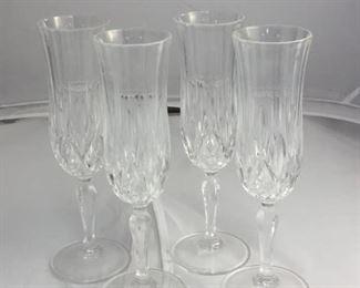 https://www.ebay.com/itm/124128656135KB0030: 4 Piece set of Glass Stemware, with bonus stem  $35