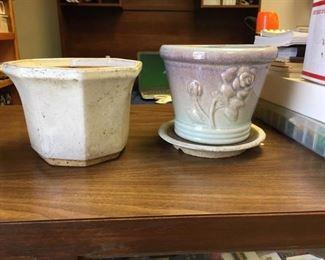 https://www.ebay.com/itm/124141907652KB0055: White Octagonal Pot and Gradient Rose Pot,  $15