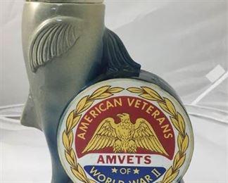 https://www.ebay.com/itm/124142019677KB0085: 1974 America Veterans 30th National Convention Dolphin Liquor Decanter 0 $45