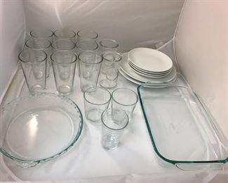 https://www.ebay.com/itm/114182849058KB0101: Lot of Dish Glassware and Tableware, 22 pieces  $5