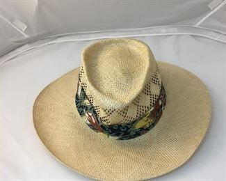 https://www.ebay.com/itm/124155198914KB0104: Jazzfest Style Vented Straw Hat  $35
