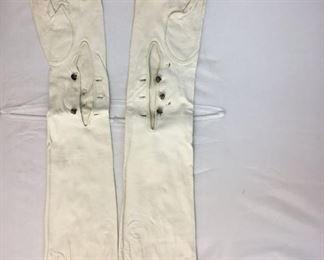 $15 https://www.ebay.com/itm/114189777393KB0108: Vintage Retro White Leather Women's Gloves, Maison Blanche 2 Pairs    $15