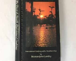 https://www.ebay.com/itm/124156196964KB0109: The Best of South Louisiana Cooking Book by Bootsie John Landry  $5
