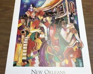 https://www.ebay.com/itm/124082605705LAN758: NEW ORLEANS DANCIN' tHE STREETS by Jeni Genter Nattie Noodle  $20
