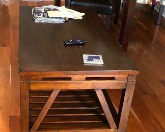 https://www.ebay.com/itm/114183801598PA025: Wood Coffee Table Local Pickup $75