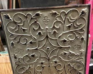 https://www.ebay.com/itm/124154975245PA055: Tin Type Mosaic Art Panel Wall Hanging  - Modern $25
