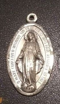 https://www.ebay.com/itm/114189645968RX4152008 STERLING SILVER 925 CATHOLIC MARY MEDAL  WEIGHT 8.5 GRAMS RX BOX 1 RX415208 $19