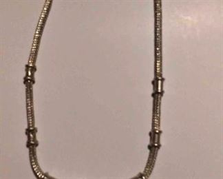 https://www.ebay.com/itm/124156104187RX4152021 STERLING SILVER VINTAGE CHOKER NECKLACE 0 WEIGHT 52.7 GRAMS REX BOX 1 RX4152021 $95