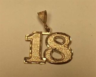 https://www.ebay.com/itm/114163339127Rxb009 STERLING SILVER CHAIN FAB OF THE NUMBER 18 WEIGHT 3.3 GRAMS $10