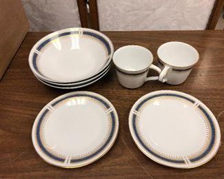https://www.ebay.com/itm/113945908882SM2009: Noritake Japan Blue Dawn China 6611 Lot of 7 Bowls, Plates & Cups  $15