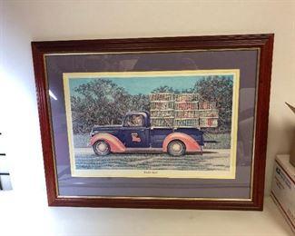 "https://www.ebay.com/itm/124180871191LAN9818: Steve Ford LSU ""Tiger Meat"" Signed and #ed Lithograph Framed $50.00"