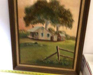https://www.ebay.com/itm/114218433936LAN9830: Cajun County Armand 1977 Oil on Board Framed Hanging Wall Art $95.00