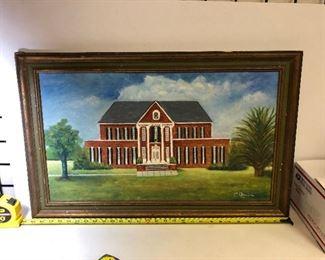 https://www.ebay.com/itm/114218433933LAN9828 Freeport Sulphur Company C. Chauvin Framed Oil on Canvas New Orleans $95.00