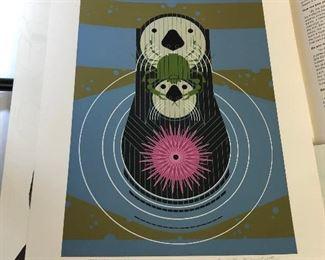 https://www.ebay.com/itm/114218433938LAN9833 Charles Harper Serigraph 1976 Devotion in the Ocean Sea Otter #ed Signed $1,000.00