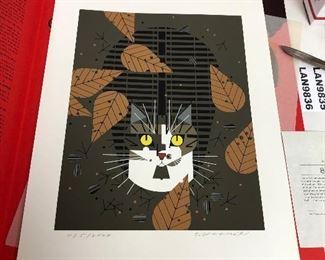 https://www.ebay.com/itm/124181783076LAN9834 Charles Harper Serigraph Birdwatcher 1975 Cat #ed and Signed $1,000.00