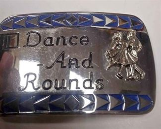 https://www.ebay.com/itm/124173647550AB0332A DANCE AND ROUNDS BELT BUCKLE 'SQUARE DANCING' BOX 70 AB0332$10