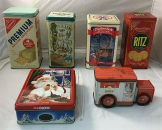 https://www.ebay.com/itm/124173818250KB0134: Lot of Vintage Collectible Tins, 6 pieces$65