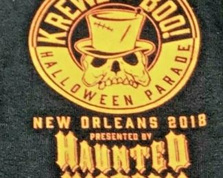 https://www.ebay.com/itm/124176096355JX005: KREWE OF BOO! HALLOWEEN PARADE NEW ORLEANS 2018 SIZE M  $20.00