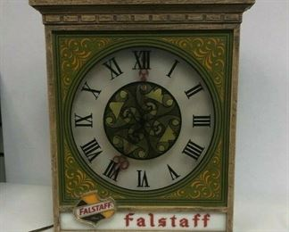 "Starts 06/05/2020 After 6 PM https://www.ebay.com/itm/114243753000	Cma2073: Vintage Falstaff Beer Clock (Untested) 14""x4.5""x15""	Auction	Starts 06/05/2020 After 6 PM"