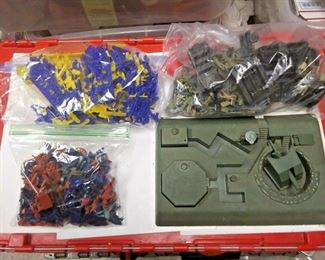 Starts 06/05/2020 After 6 PM https://www.ebay.com/itm/124207298240	BU3095 BOYS TOY JUNK BOX OF 1960s PLASTIC SOLDERS & VEHICLES THIS BOX CONTAINS 	Auction