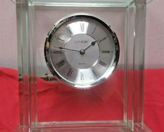 https://www.ebay.com/itm/124374715213WL3131 USED VINTAGE DANBURY QUARTZ GLASS MANTLE CLOCK 24.99Buy-It-Now