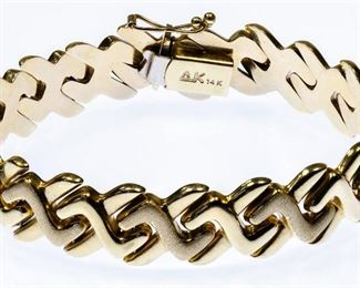 Anne Kline 14k Gold Bracelet