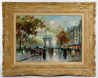 Antoine Blanchard French 1910 1988 Oil on Canvas