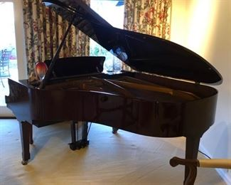 Petrof Grand Piano - please call with offers Petrof Piano 2006 5' wide X 7' Long Baby Grand - Parlor Grand player piano 12 discsPiano Mahogany with bench - Originally $25,000 For Sale $17,000