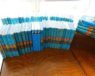 Large selection of Hardy Boy books