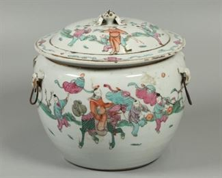 Chinese porcelain soup tureen, possibly 19th c.