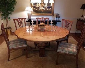 Gorgeous Vintage Harden Cherry Dining Suite