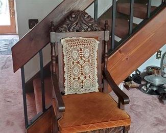 estate antique chair