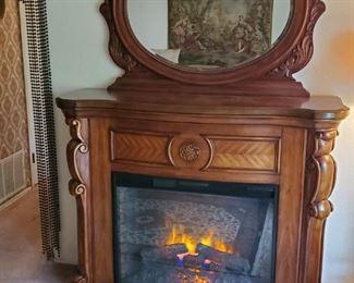 estate fireplace