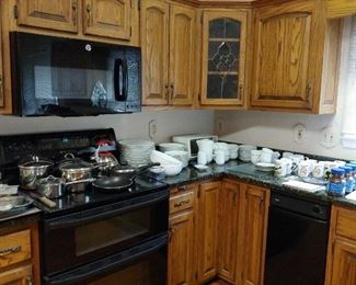 Dansk dishes, pots and pans, misc