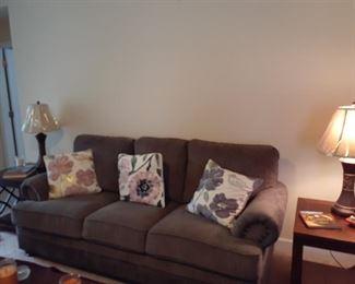 Like new gray sofa