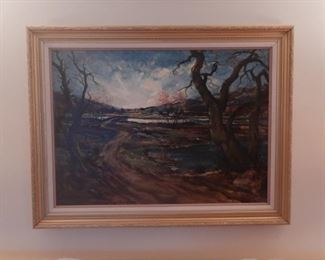 """""""Early Morning"""" Rangley Maine $350"""
