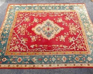 19th century antiqueTurkish Oushak oriental carpet - palace size.  14' x 17'. Recently cleaned.