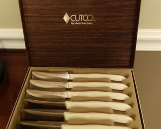 Vintage Cutco Steak Knives 1759 pearl handle
