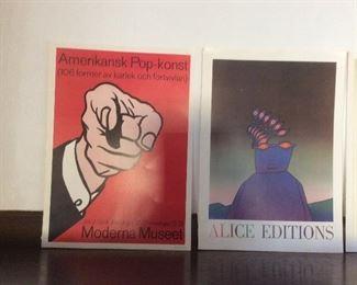 Art posters Roy Lichtenstein