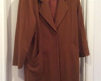 Women's wool coat WITH SHOULDER PADS, YOU TOO CAN LOOK LIKE DAVID BYRNE FROM THE TALKING HEADS