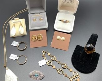 10K to 14K gold jewelry, 50% off all weekend!