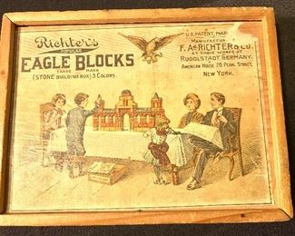 Early 1900's Building Blocks