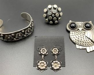 .950 silver and sterling silver jewelry from Mexico, 50% off all weekend!