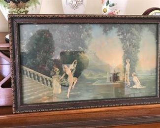 Atkins framed picture.