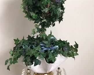 Topiary and plant stand