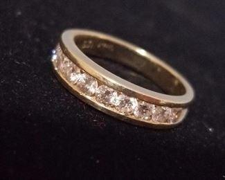 14kt and diamonds