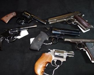 SELECTION OF FIREARMS