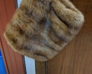 beautiful mink muff